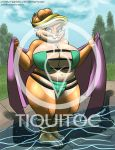 Commission - Plump hot mama 2 by Tiquitoc