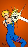 Dazzler - color by pjperez