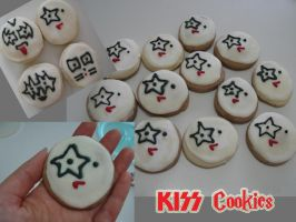 KISS Cookies by SusiKISS