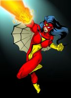 Spiderwoman by sean-izaakse