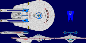 USS Normandy (Refit) by MarcusStarkiller