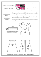 Monster High Sister Clawdeen Dress Pattern by TheUkelele