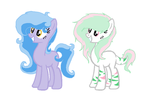 ::CLOSED:: Earth Pony Adopts 3 by PennyDropShop