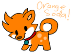 Orange Soda-Pom (Closed) by HeartinaRosebud
