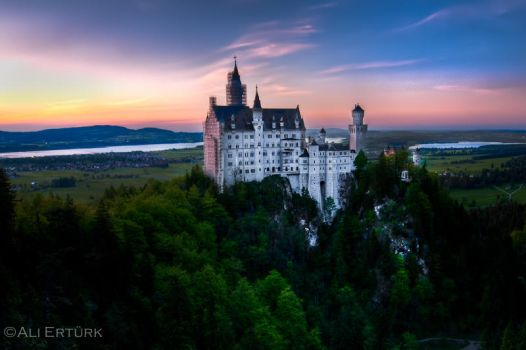 Munich, Neuschwanstein by alierturk