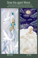Yue-before-after by Dark-angel-star