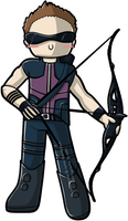 Hawkeye c: by wondering-souls