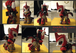 Custom KnockOut Pony by ManicDraconis