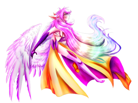 [No Game No Life] Jibril by GR4CE-and-T0FFIE