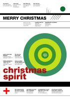 christmas card in swiss style by SAMPLE2