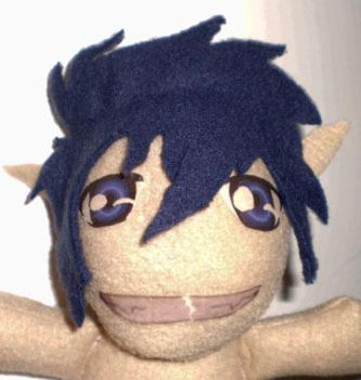 Blue Exorcist Plushie Rin WIP by superjacqui