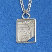 Techno Pendant. by harlewood