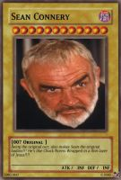 Sean Connery Yu-Gi-Oh Card by Michael-J-Caboose