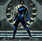 Nightwing new 2nd skin textures for M4 by hiram67