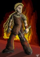 Jimmi The Blacksmith by yanharrison