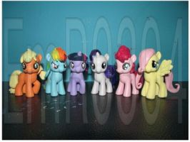 FOR SALE: Mane 6 Fillies by EmR0304