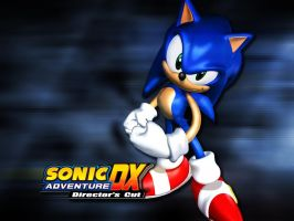 Sonic Adventure DX: Sonic the Hedgehog wallpaper by SpeedTheHedgehog101