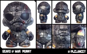 Gears of War Munny by Clanceypants