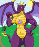 The dragon is defeated... almost by theHyenasSBE