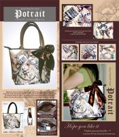 Potrait Bag by laverinne