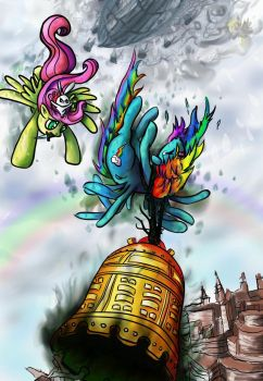 The Bell of Everfree by Rosemary-Thyme