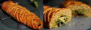 Delicious Bread: Braided and Stuffed! by foquinha156