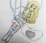 Commission: Webbed Up Lillie by SnidelyOne