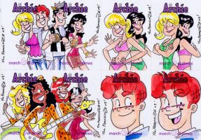 Archie cards by theFranchize