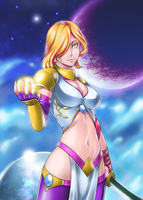 My entry for Magic Knight Armageddon contest by Lutherine