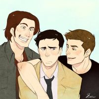 SPN - Team Free Will 2 by msloveless