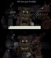 Ask/Dare Foxy and Bonnie [26] by BetrayingtheMartyr