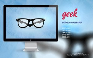 Geek Wallpaper by Abstx