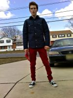 Peter Parker - Quilted Jacket by CptTroyHandsome
