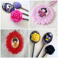 Cute Fabric Cameos Aug 10th by AndyGlamasaurus