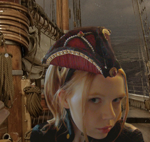 Sky Pirate Tricorn Hat by SteamSociety