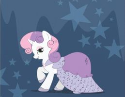 Sweetie Belle - Gala Dress by Maiximillion3564