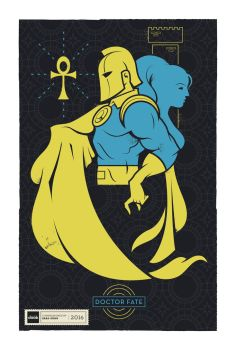 DC Superhero Profiles: Doctor Fate by daabcreative