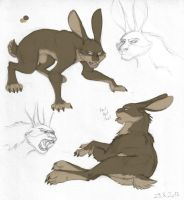 ROTG - Dark pooka by merrypaws
