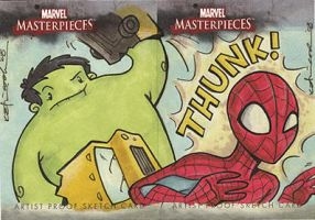marvel masterpieces proofs 3 by katiecandraw