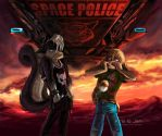 Space Police. by jen-and-kris