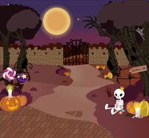 Halloween BG by Shadow-People