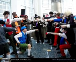 AX 2014: Mens' Battle for PLvsAA by KatyMerry