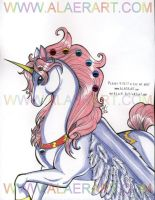 The Jeweled Horned Pegasus by alaer