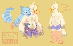wow incredible that bird has nipples by VCR-WOLFE