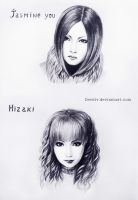 Hizaki and Jasmine by Develv