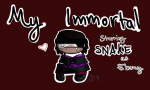 My Immortal Starring Snake as Ebony by ZomzArtisticz