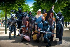 Epic Skyrim Group by Sweeturk