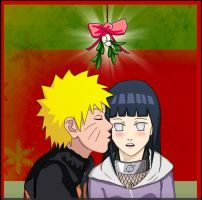 NaruHina: Under the mistletoe by Kobylkavpyzamu