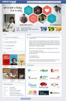 Creative Resume Design by Nakul Anand by nakulanand