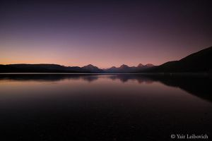 Lake McDonald last light by Yair-Leibovich
